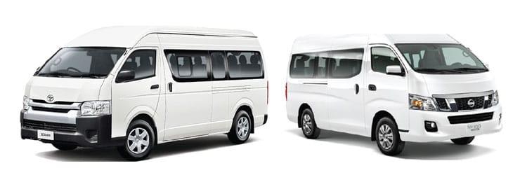 Passenger Vans & Buses