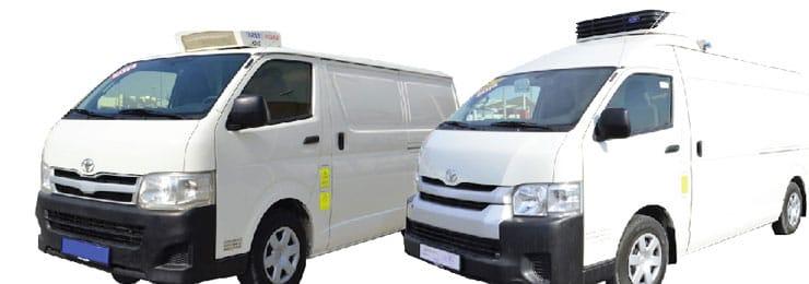 Chiller & Freezer Vans