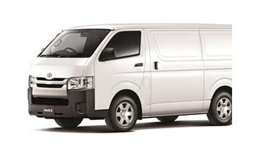 Toyota Hiace Delivery Van – 2.7 L
