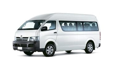Toyota Hiace Mid Roof 15 seater – 2.7 L