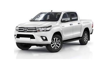 Toyota Hilux 4×4 DC Pick Up – 2.7 L